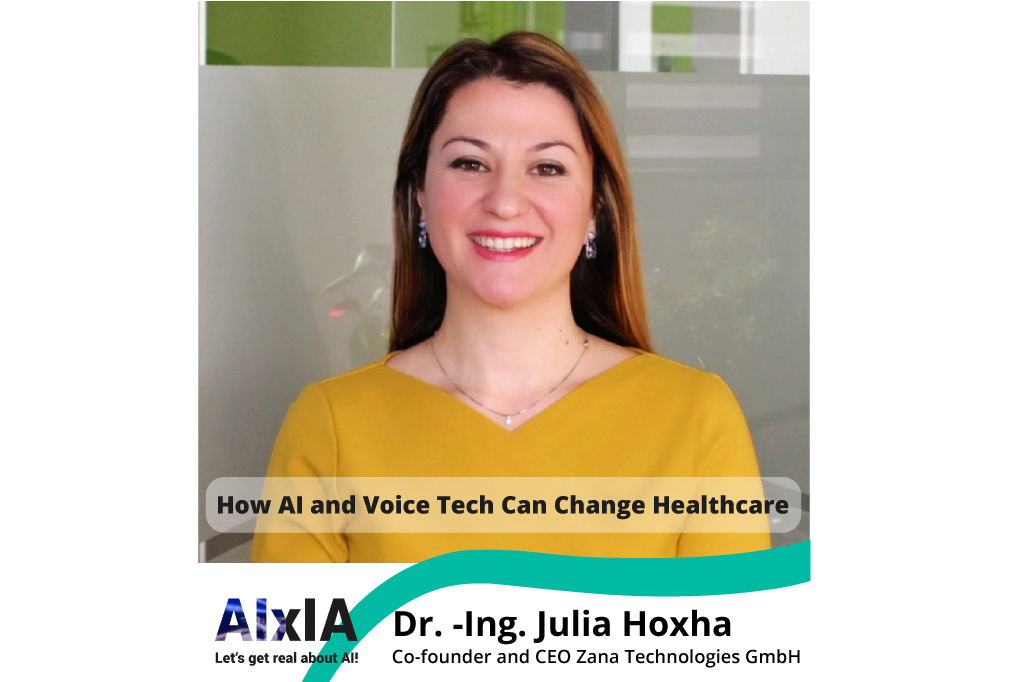 How AI and Voice Tech Can Change Healthcare - Talk at AIxAI Conference