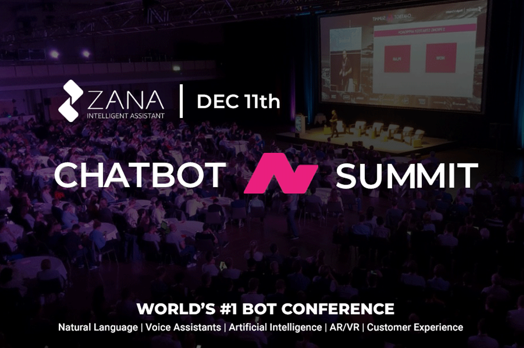 Zana is SEMI-FINALIST at Chatbot & Voice Summit Startup Competition