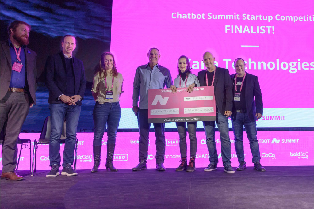 Zana is WINNER at Chatbot & Voice Summit Startup Competition