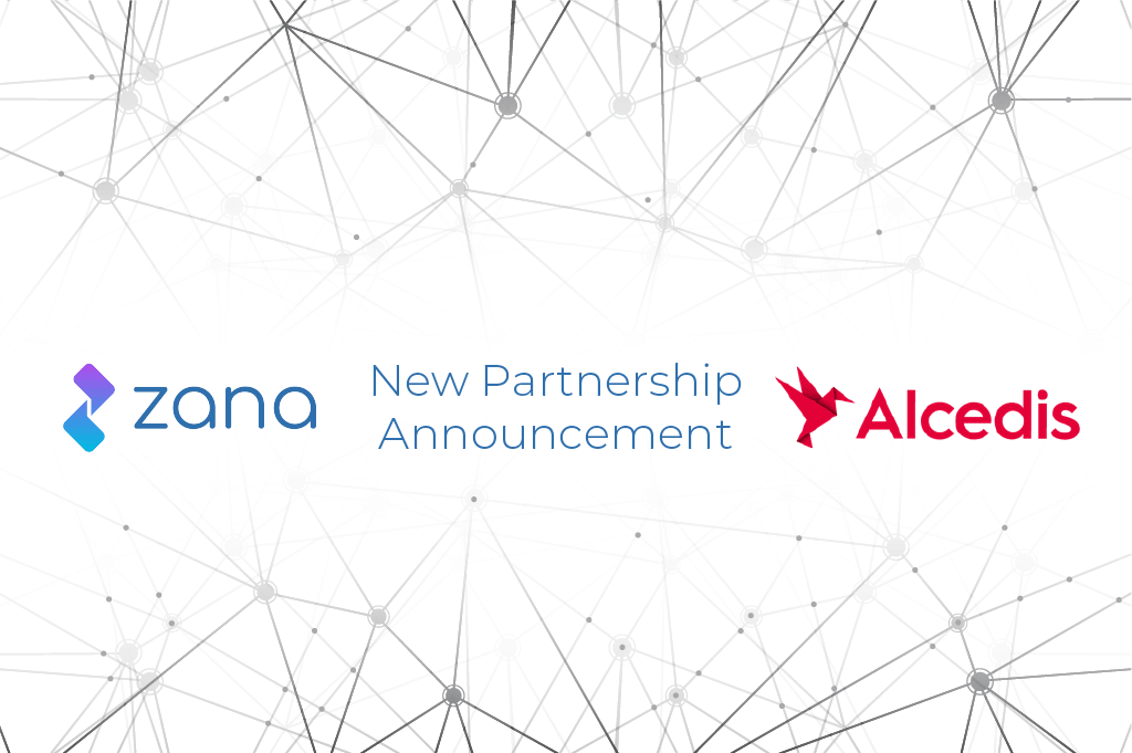 The future of clinical trials:  Zana partners with Alcedis, the global market-leading CRO for data driven clinical research and technology utilization