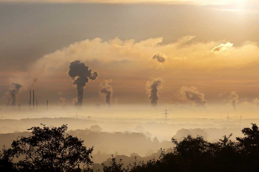 """Growing up in air-polluted areas linked to mental health issues,"" reports The Guardian."