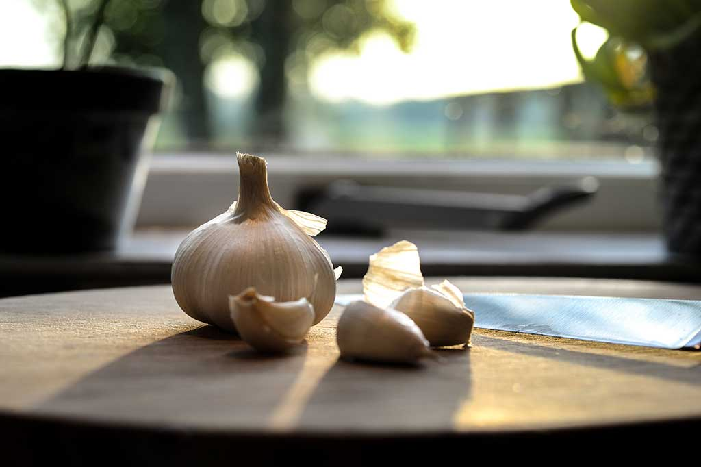 'Garlic can slash the risk of cancer, heart disease and type 2 diabetes' the Mail Online reports