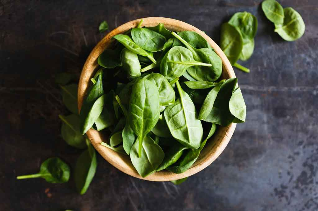 Spinach 'may boost exercise'