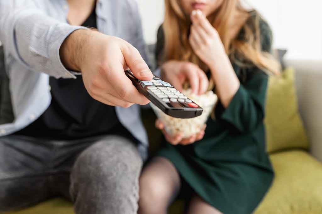 """Young Brits are having less sex than a decade ago because they're too busy watching Netflix,"" reports the Sun. Researchers used survey data from ..."
