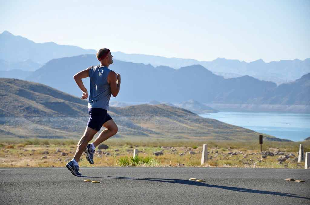 'Running is better than weight training at reversing signs of ageing' The Independent reports