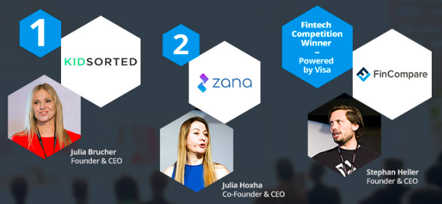 By popular vote, Zana has been ranked as one of the two top winners at NOAH18 Startup Stage in Berlin.